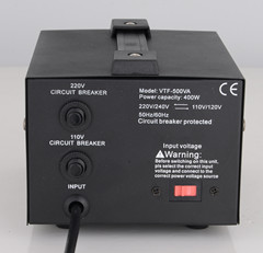 500VA AC Voltage Converter