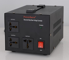1500VA AC Voltage Converter
