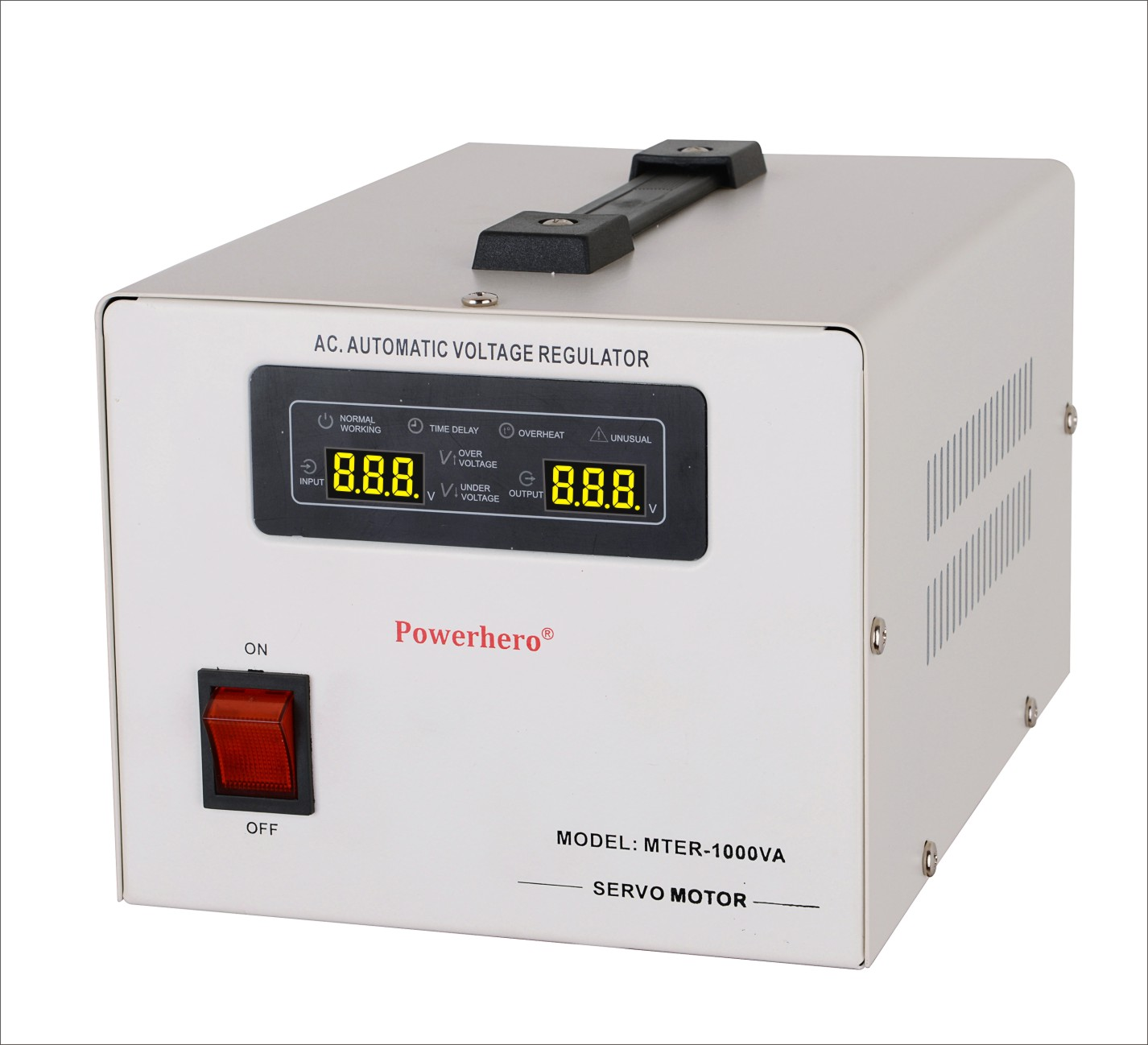 1000VA servo motor voltage stabilizer